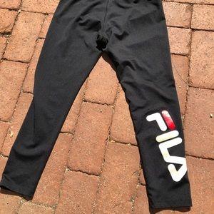 FILA spandex leggings activewear workout pants